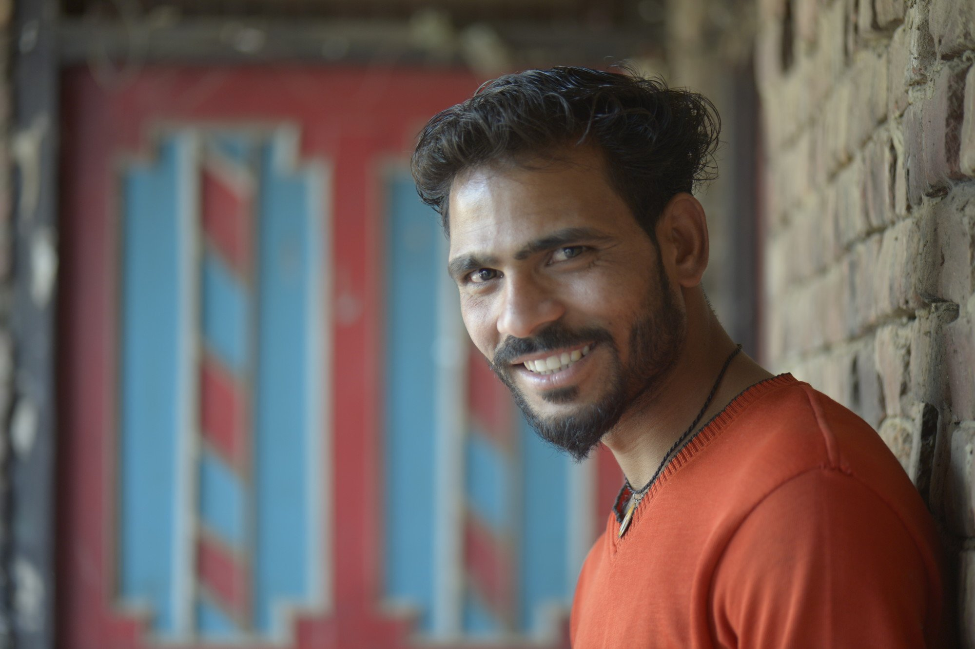 Amit Kumar, 22, learned about the importance of girls' education through an Oxfam program called Creating Spaces, which aims to transform gender norms.