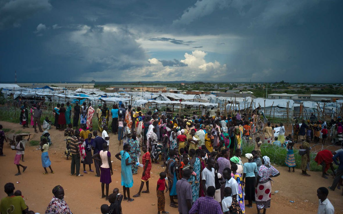 Photos: Marking an independence day with crisis, not celebration | Oxfam