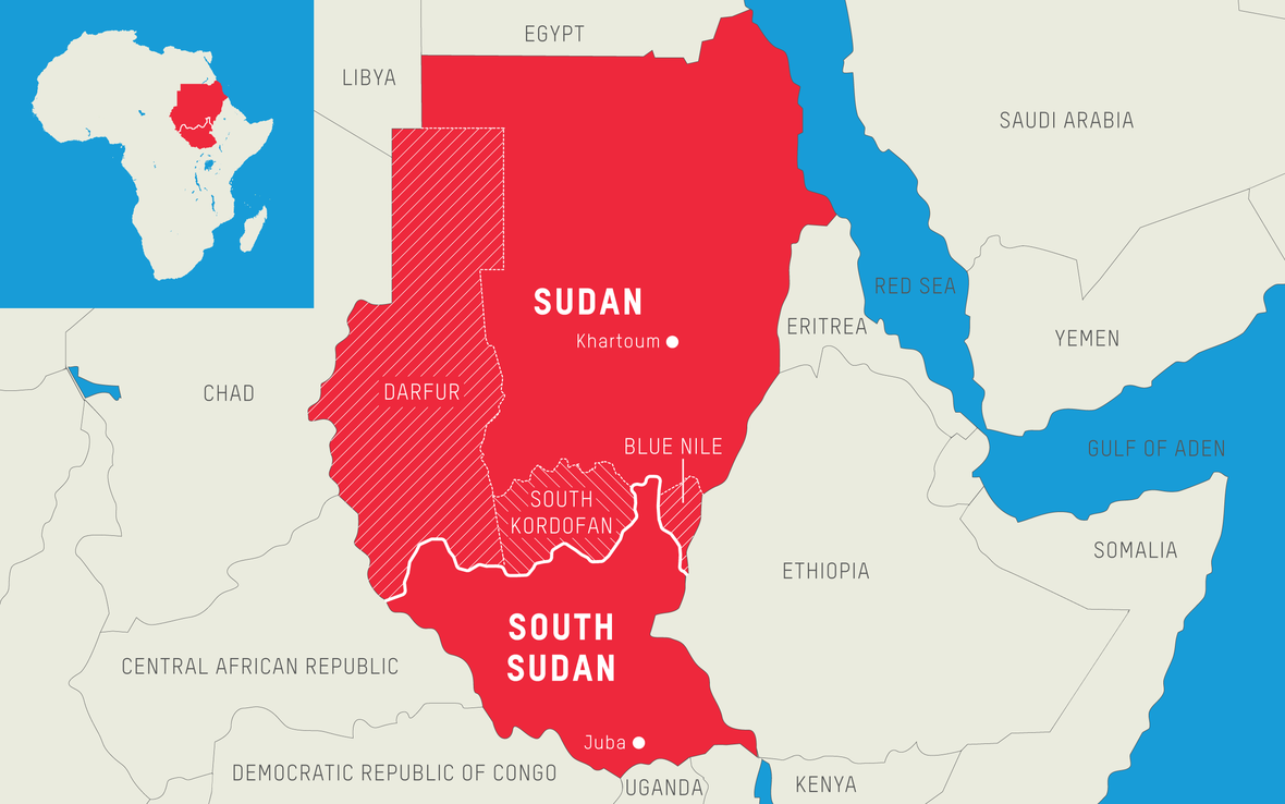 What's the difference between Sudan and South Sudan? | Oxfam